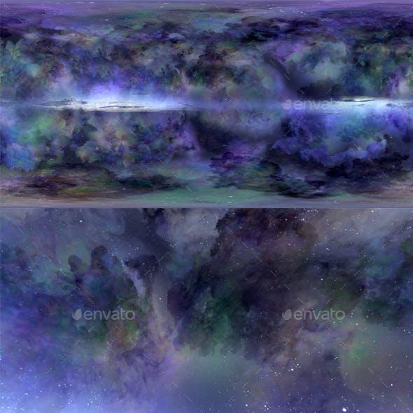 Skydome HDRI - Stardust Sky 2