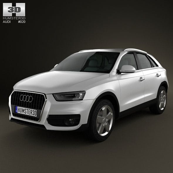 Audi Q3 2011 - 3DOcean Item for Sale