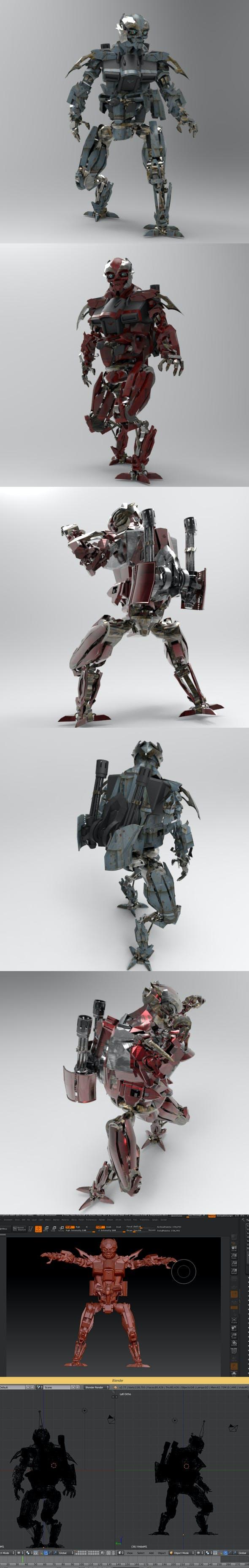VroboM1 - 3DOcean Item for Sale