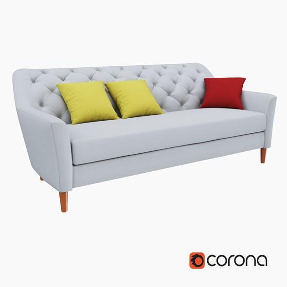 Ainslie Sofa - 3DOcean Item for Sale