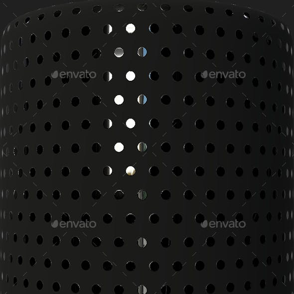 Black Texture With Reflective Dots