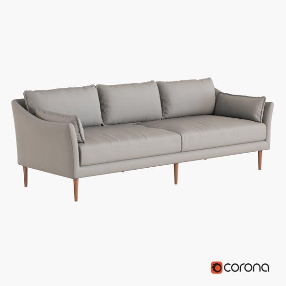 Antwerp Sofa - 3DOcean Item for Sale