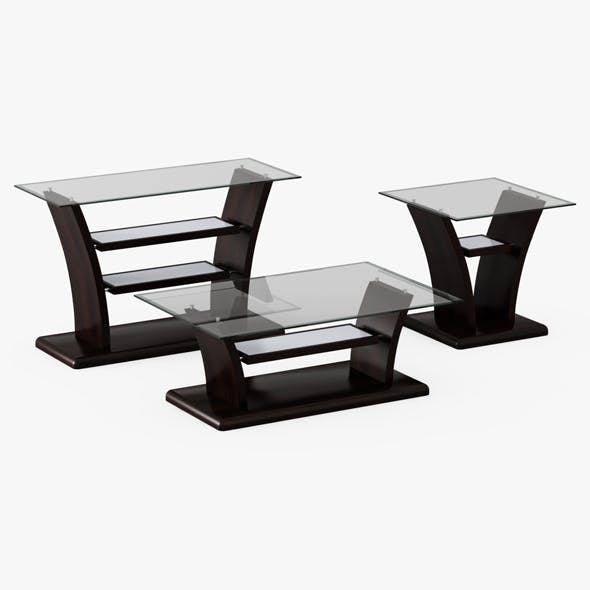 Bell Aer tables - 3DOcean Item for Sale