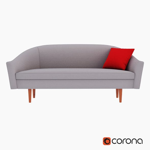 Billie Sofa - 3DOcean Item for Sale