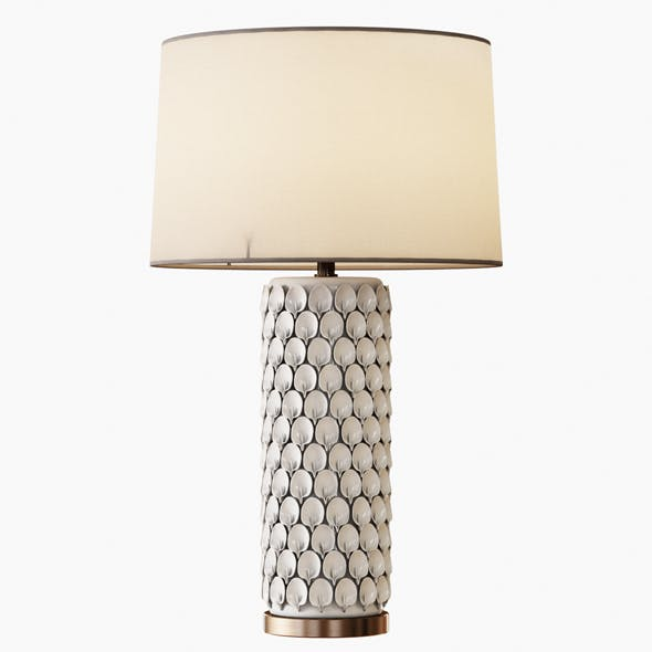 Calla Lily Table Lamp - 3DOcean Item for Sale