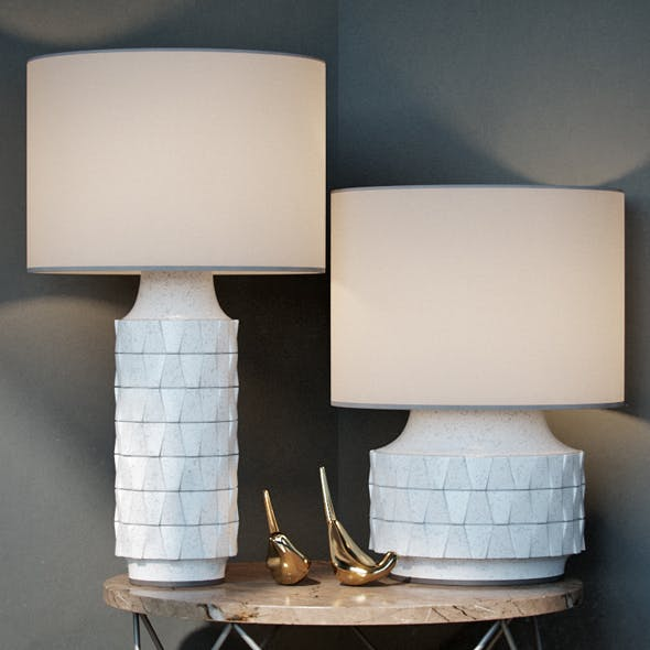 Ceramic Texture Table Lamp Tall