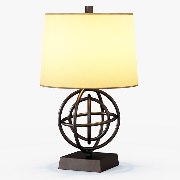 Circles Table Lamp - 3DOcean Item for Sale