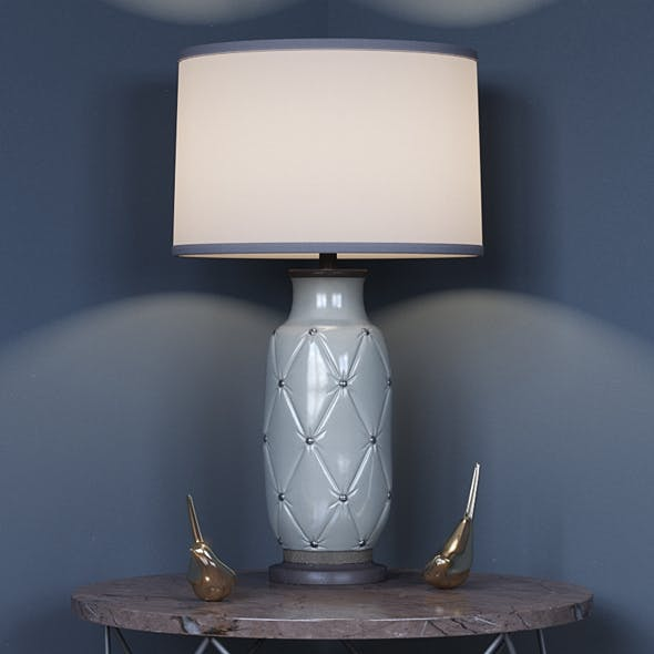 Couplet Table Lamp - 3DOcean Item for Sale