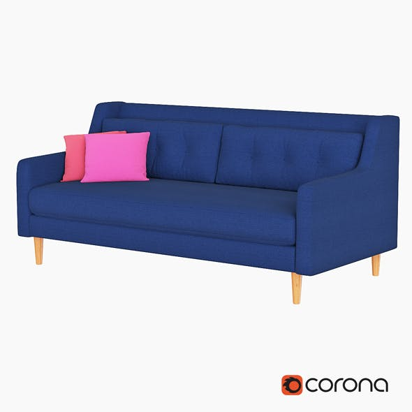 Crosby Sofa - 3DOcean Item for Sale