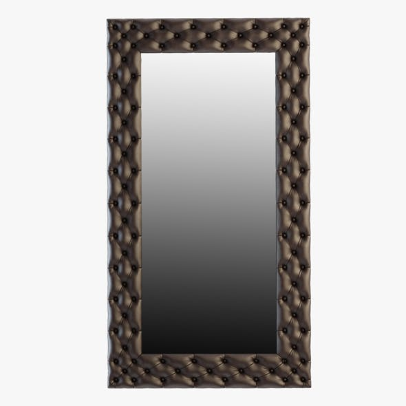 Deep Button Dressing Mirror