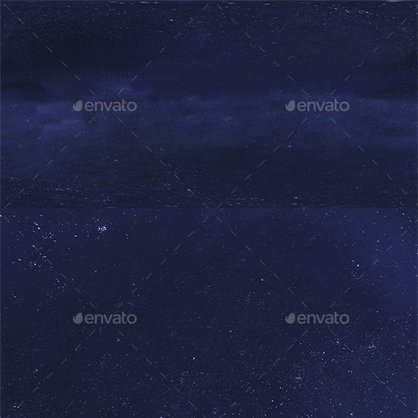 Skydome HDRI - Starlight Sky 3