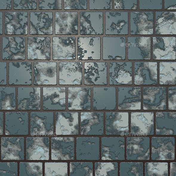 Destructed Ceramic Tiles