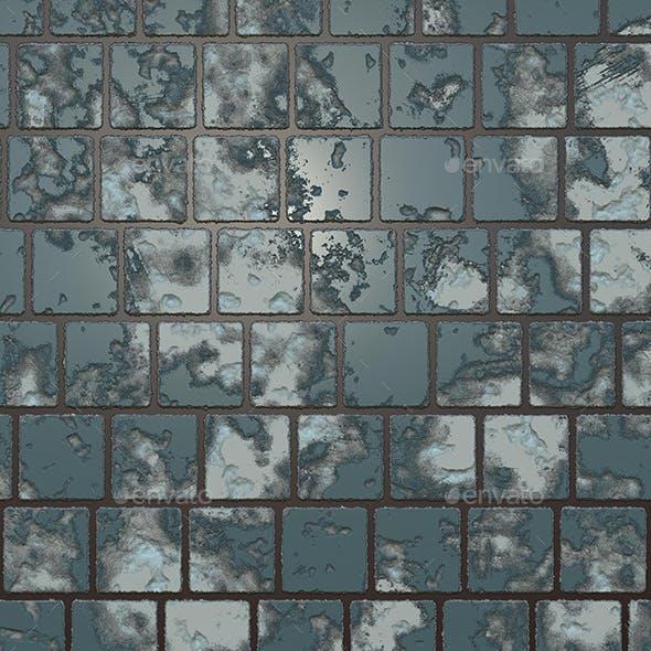 Destructed Ceramic Tiles