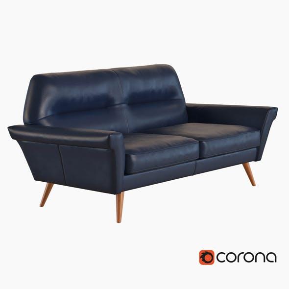 Denmark Leather Loveseat