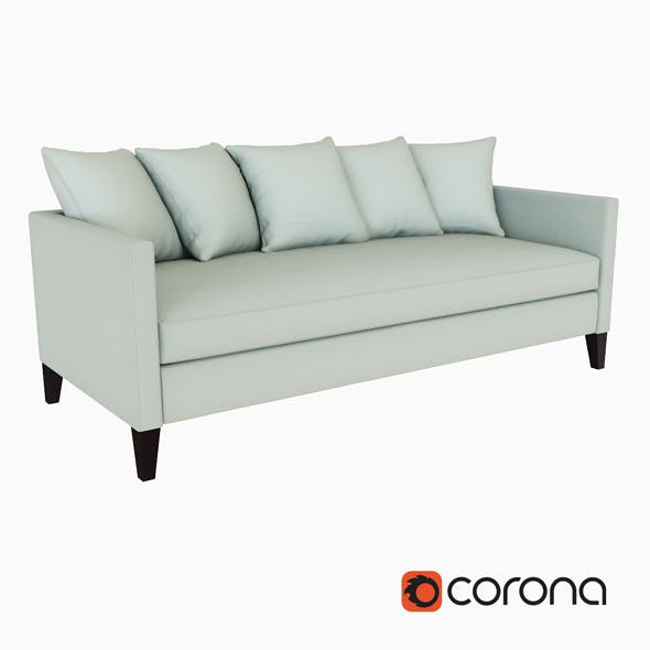 Dunham Down Filled Sofa Toss Back - 3DOcean Item for Sale