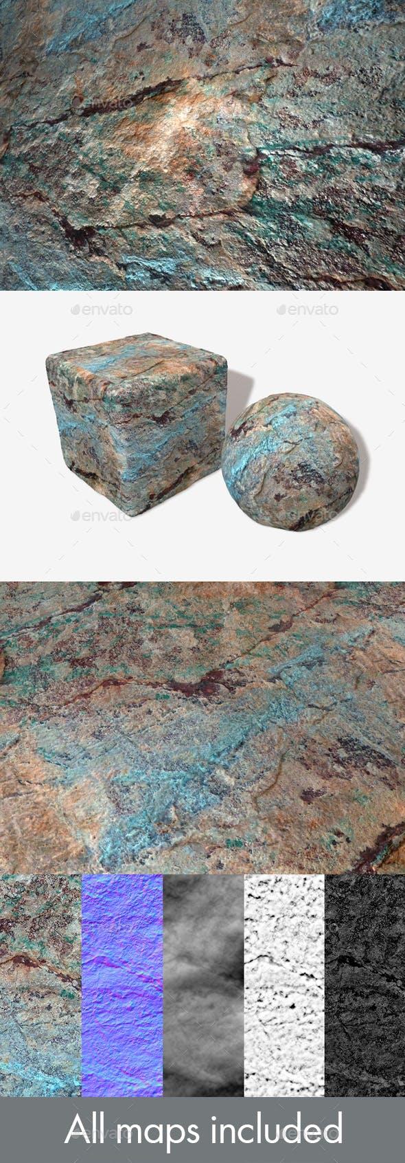 Painted Desert Rockface Seamless Texture - 3DOcean Item for Sale