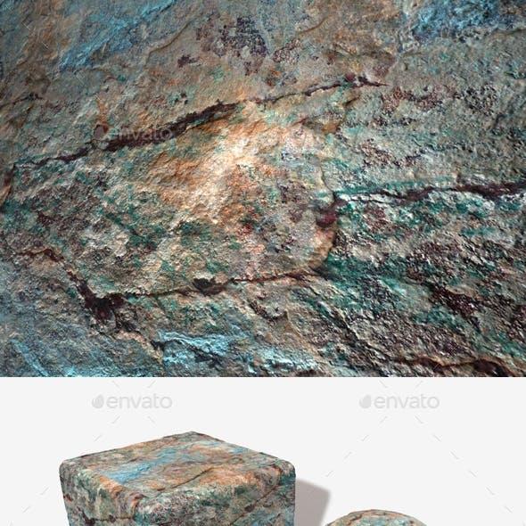 Painted Desert Rockface Seamless Texture