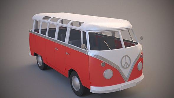 Volkswagen Transporter T1 - 3DOcean Item for Sale