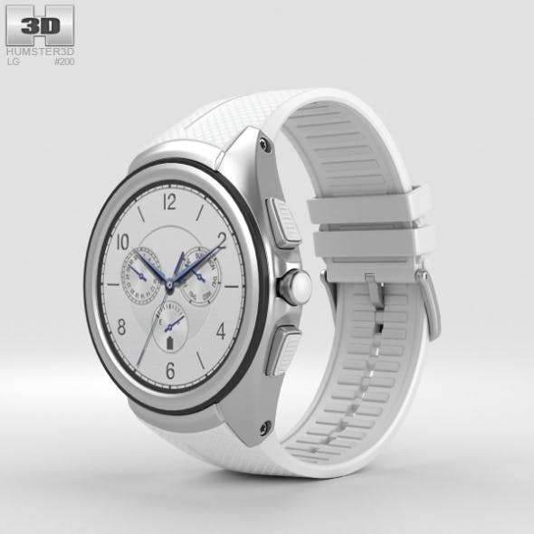 LG Watch Urbane 2nd Edition Luxe White - 3DOcean Item for Sale