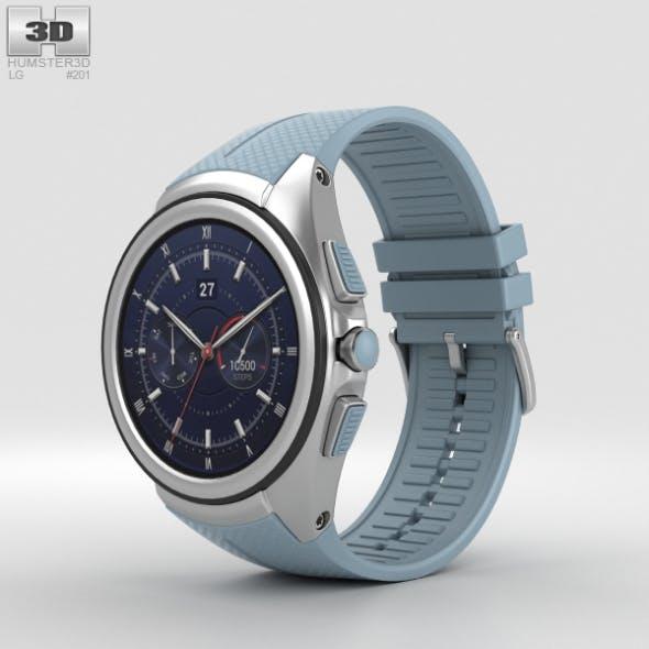 LG Watch Urbane 2nd Edition Opal Blue - 3DOcean Item for Sale