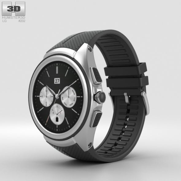 LG Watch Urbane 2nd Edition Space Black - 3DOcean Item for Sale