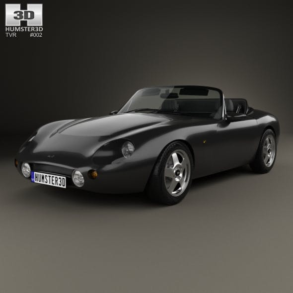 TVR Griffith 1991 - 3DOcean Item for Sale