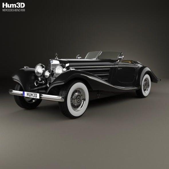 Mercedes-Benz 540K 1936 - 3DOcean Item for Sale
