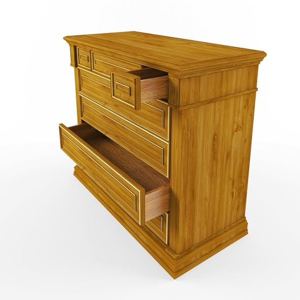 chest of drawers living room - 3DOcean Item for Sale