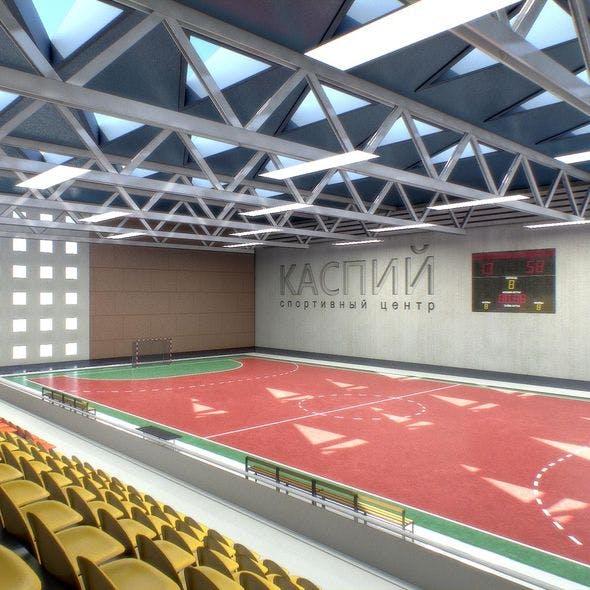 Gym Athletics Interior - 3DOcean Item for Sale