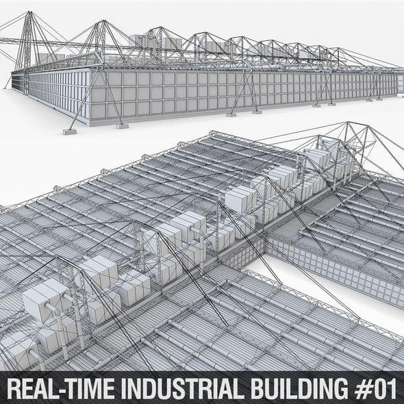 Industrial Building 01 - 3DOcean Item for Sale