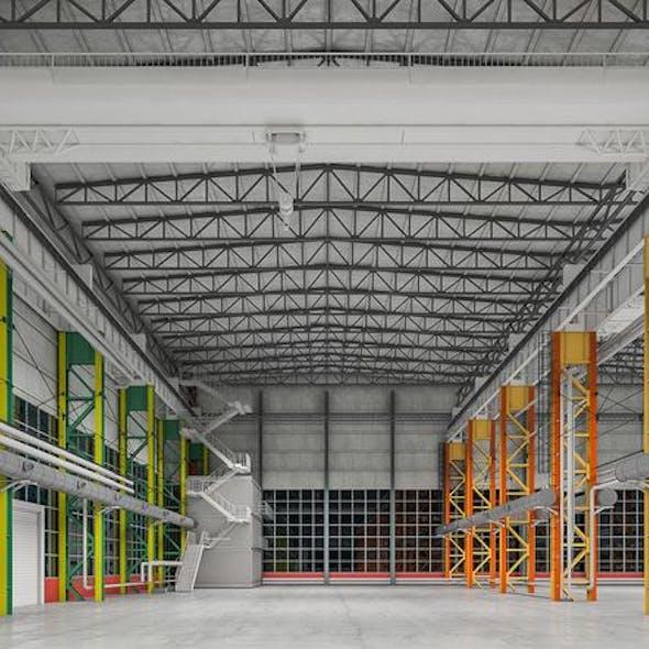 Industrial Building Interior 01