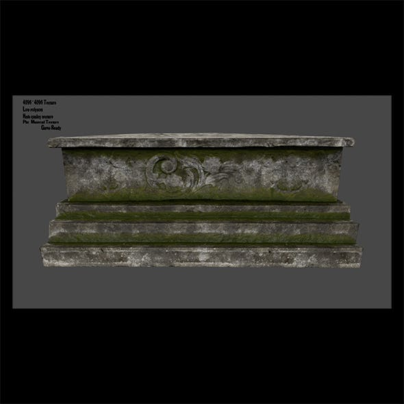 tomb - 3DOcean Item for Sale