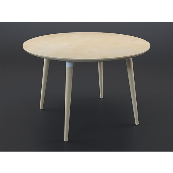 Edelweiss table - 3DOcean Item for Sale