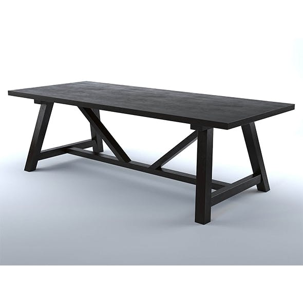 Iona table - 3DOcean Item for Sale