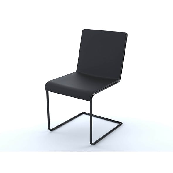 Black design chair