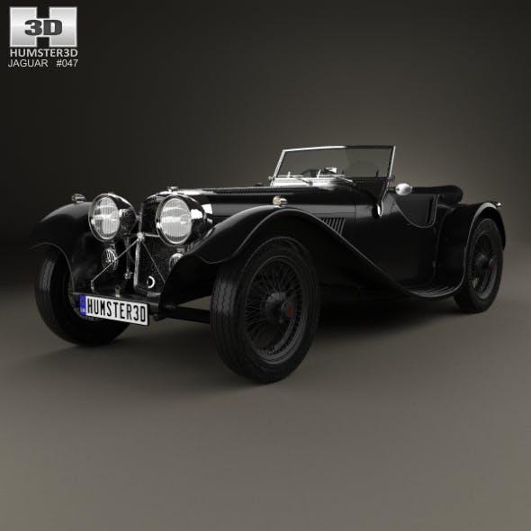 SS Jaguar 100 1936 - 3DOcean Item for Sale