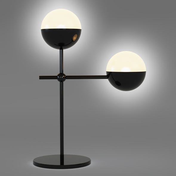 Globe Table Lamp - 3DOcean Item for Sale