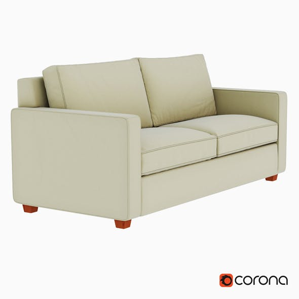 Henry Sofa - 3DOcean Item for Sale