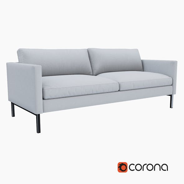 High Line Upholstered Sofa - 3DOcean Item for Sale