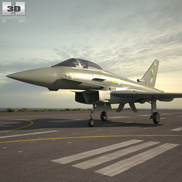 Eurofighter Typhoon - 3DOcean Item for Sale