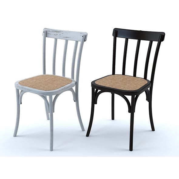 Bistrot chairs (set of 2) - 3DOcean Item for Sale