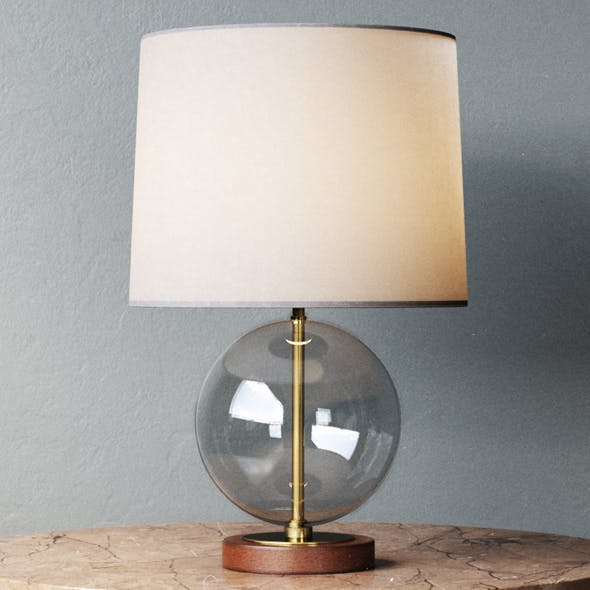 Lawson Table Lamp - 3DOcean Item for Sale