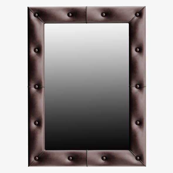 Leather Mirror Small