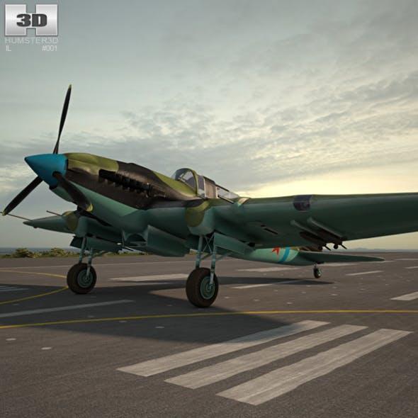 Ilyushin Il-2 Sturmovik - 3DOcean Item for Sale