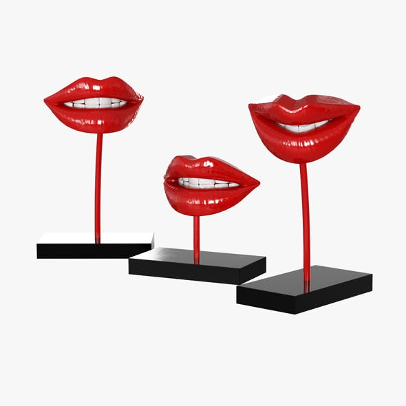 Lips - 3DOcean Item for Sale