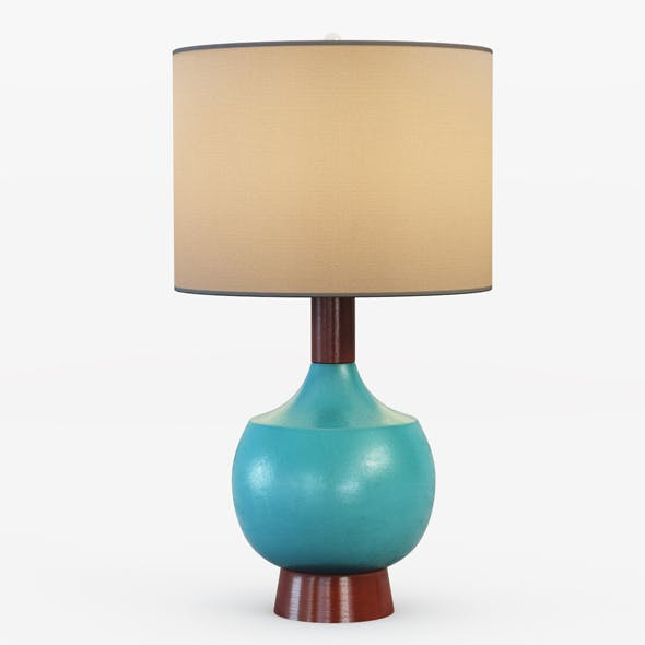 Modernist Table Lamp - 3DOcean Item for Sale