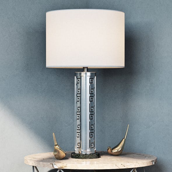 Muse Table Lamp - 3DOcean Item for Sale