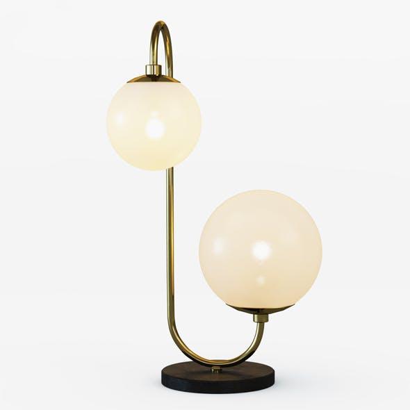 Pelle Table Lamp - Asymmetrical - 3DOcean Item for Sale