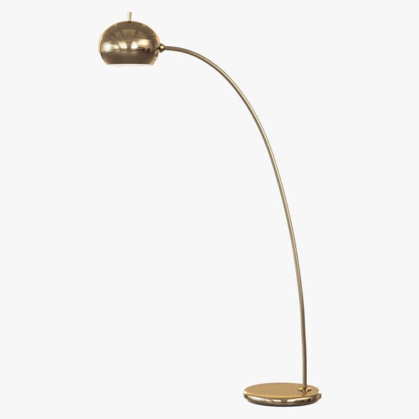 Petite Arc Metal Floor Lamp - 3DOcean Item for Sale
