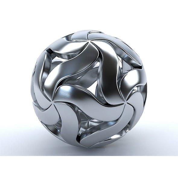 Decorative metal ball - 3DOcean Item for Sale